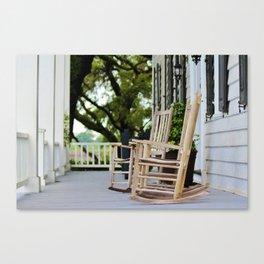 Kaminski House Porch Canvas Print