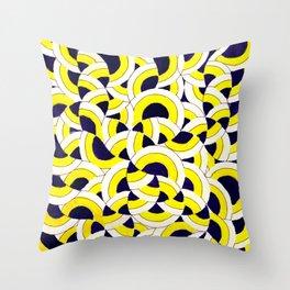Seigaiha Series - Congregate Throw Pillow