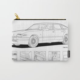Rover Vitesse 1986 Illustration Carry-All Pouch