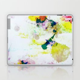 Abstract Paint Splatter Art Laptop & iPad Skin