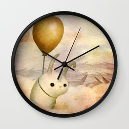 Bun Bun and the Balloon Wall Clock
