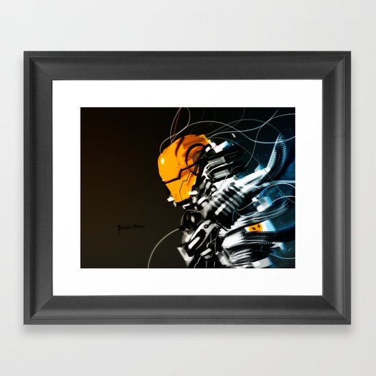 Wired Custom 13 Framed Art Print