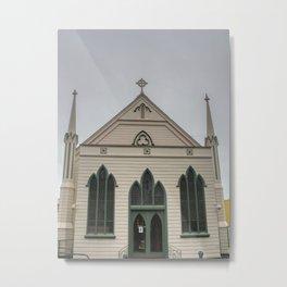 Trinity Methodist Church Napier Metal Print