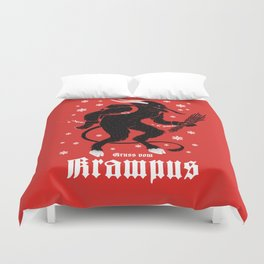 Krampus Duvet Cover