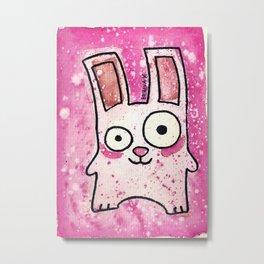 Freezer Bunny Metal Print