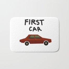 First car Bath Mat