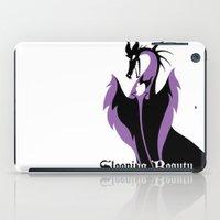 sleeping beauty iPad Cases featuring Sleeping Beauty by Citron Vert