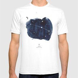 Zodiac Star Constellation - Aries T-shirt