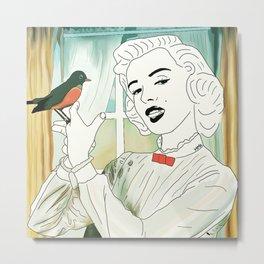 marilyn poppins Metal Print