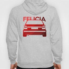 Skoda Felicia - classic red - Hoody