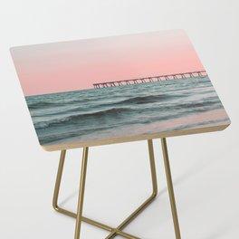 Pink Ocean Side Table