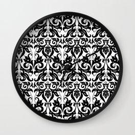 PARSLEY SWIRLS Wall Clock