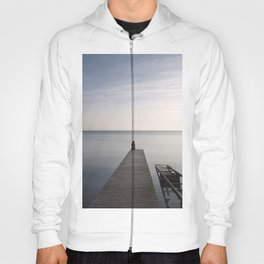Mermaid at Sunset - Landscape Photography Hoody