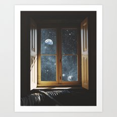 WINDOW TO THE UNIVERSE Art Print