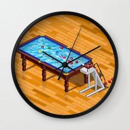 it`s Not Pool it`s Snooker Wall Clock