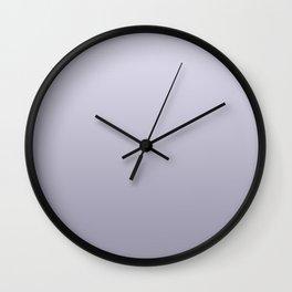 Wild Lilac Gradient  Wall Clock
