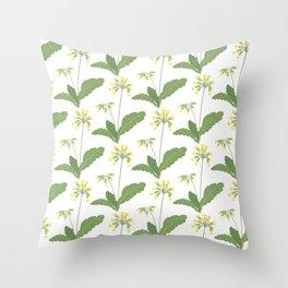 Gullvivor - svensk sommar Throw Pillow