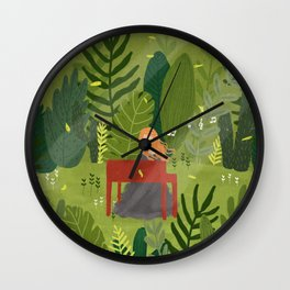 Melody and Forest Wall Clock