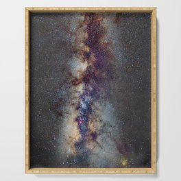 The Milky Way: from Scorpio, Antares and Sagitarius to Scutum and Cygnus Serving Tray