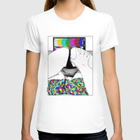 apollonia T-shirts featuring asc 511 - L'extatique (The ecstatic) by From Apollonia with Love