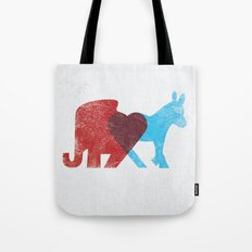 Share Opinions Tote Bag