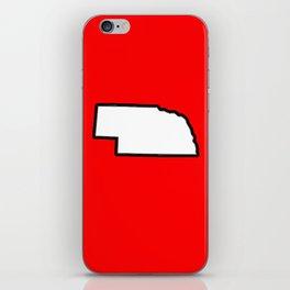 Nebraska iPhone Skin
