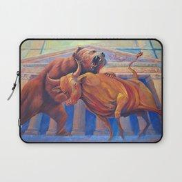 Bear vs Bull Laptop Sleeve