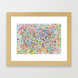 The 2nd Simple Thing Framed Art Print