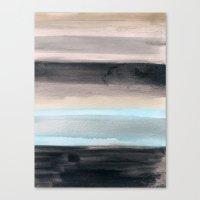 santa monica Canvas Prints featuring Santa Monica by Steven k Schmidt
