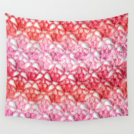 Cherry blossom crochet Wall Tapestry