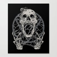 tangled Canvas Prints featuring Tangled  by BEADLER Design and Illustration
