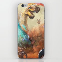 Unlimited Power iPhone Skin
