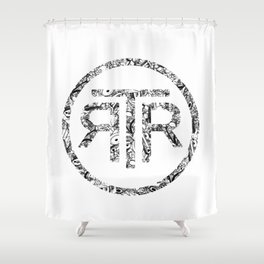 RELEASE THE ROBOTS! Shower Curtain