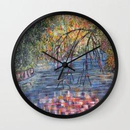 Lazy River Days Wall Clock