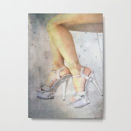 New Shoes Metal Print