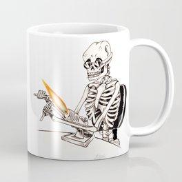 Skelly Flamerworker Coffee Mug