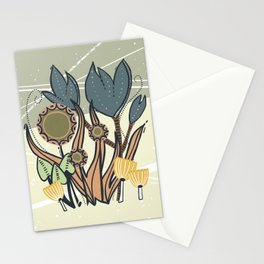 Vintage Retro Garden Stationery Cards