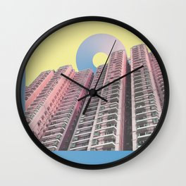 creative collisions Wall Clock