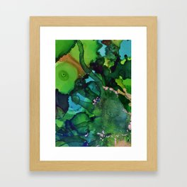 Beneath the Green Framed Art Print