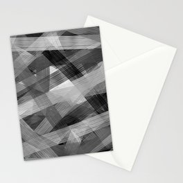 Abstrakt N1BW Stationery Cards