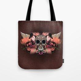 Skull Trucker Cap Tote Bag