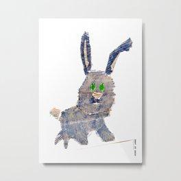 Wabbit Metal Print