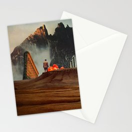 My Worlds Fall Apart Stationery Cards