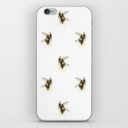 Bumblebee pattern iPhone Skin