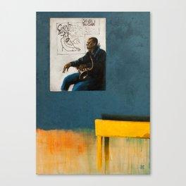 On a visit Canvas Print