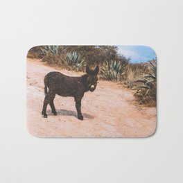 Donkey in Peru Bath Mat
