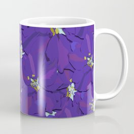 Larkspur Love Coffee Mug