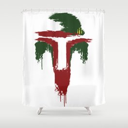 Bobba Fett Shower Curtain