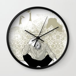 come find me - popshot magazine  Wall Clock