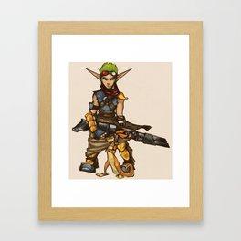 Jak&Daxter Framed Art Print